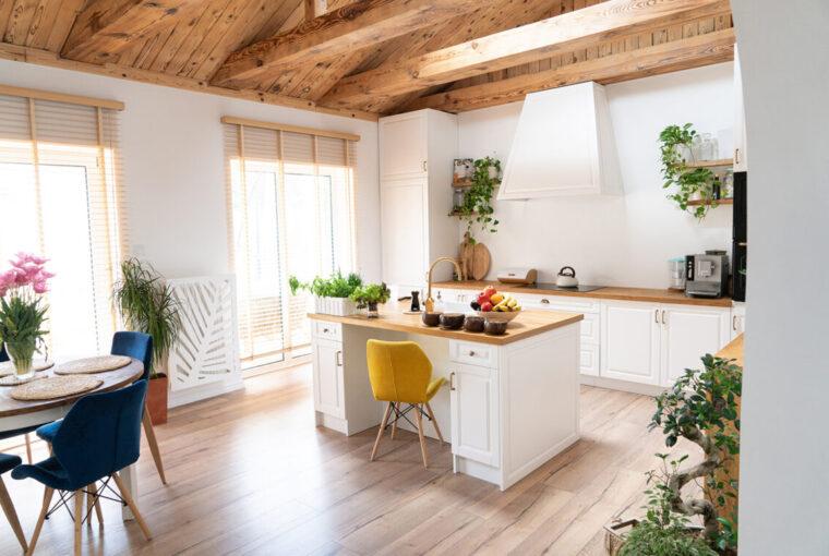 Scandinavian, Hygge Kitchen, home.