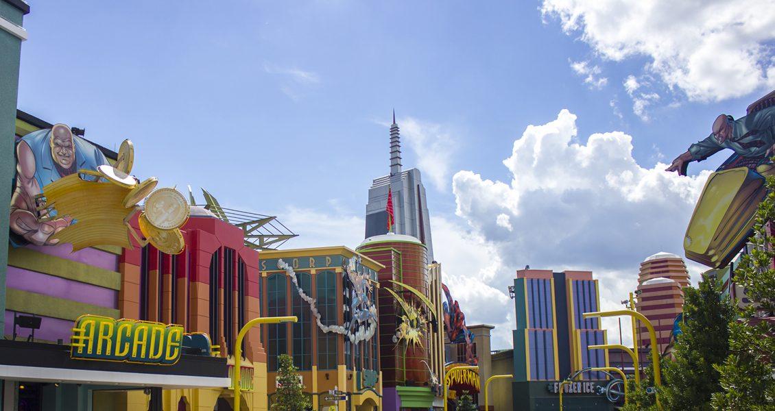 ORLANDO, USA - theme park Universal Studios Islands of Adventure