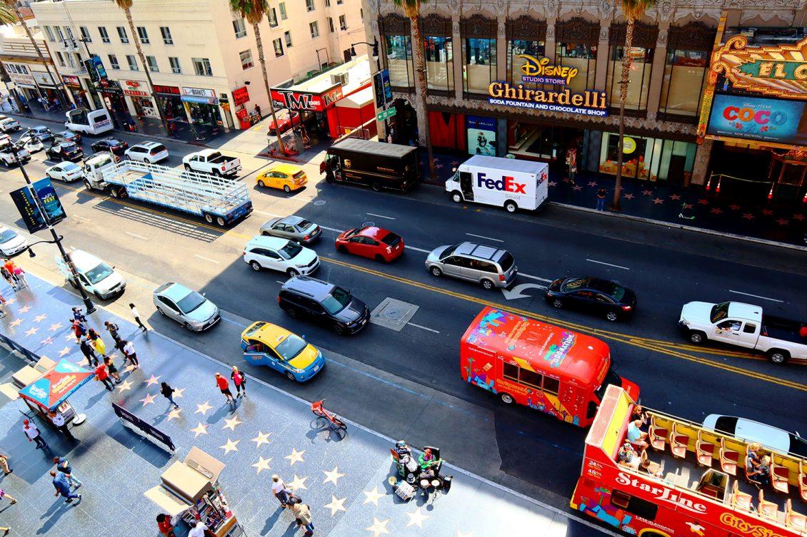 Hollywood Boulevard Florida Walk of Fame