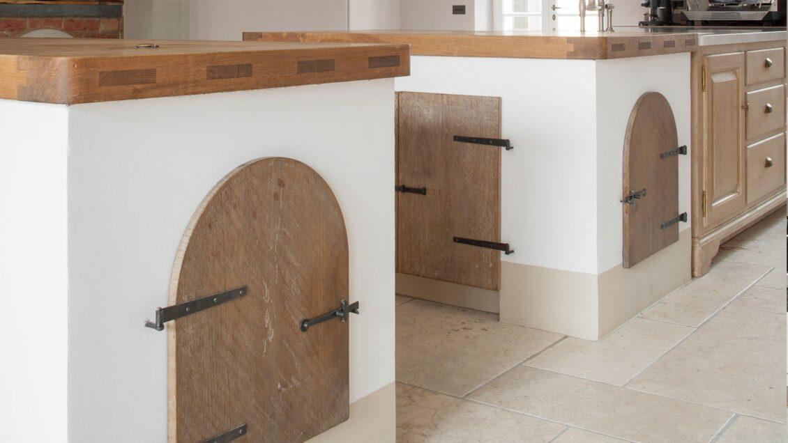 Tuscan Inspried Kitchen. Arber Ovens Details