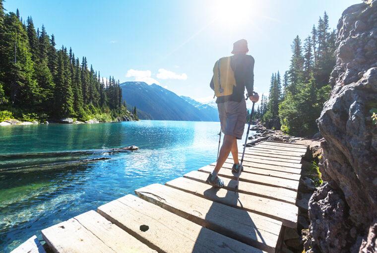Hiking in Canada