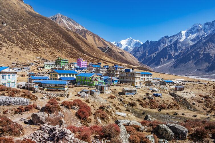 Nepal Langtang valley Kyanjin