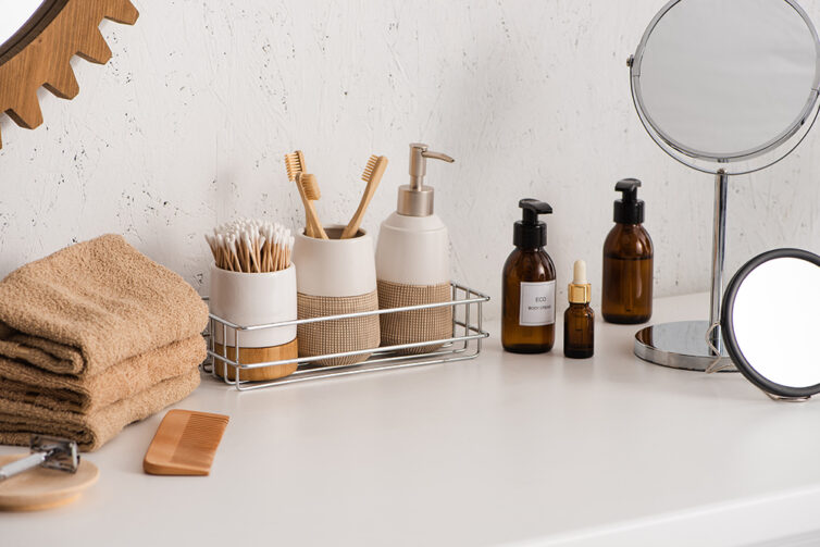 Eco friendly bathroom products