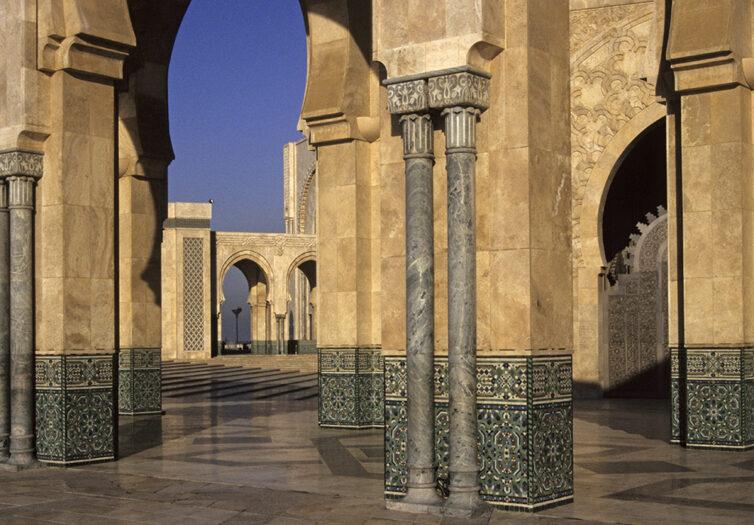 Hassan ll Mosque, Casablanca, Morocco