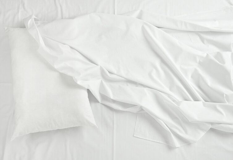 White Cotton Bed Sheets