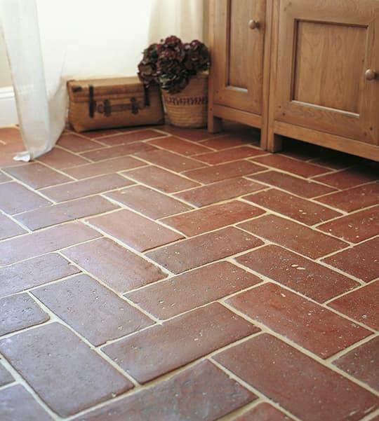 Terracotta Floor Tiles from Fired Earth
