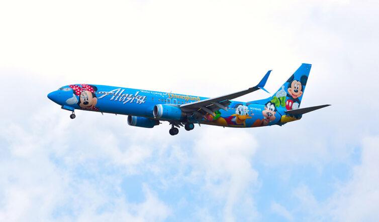 Alaska Airlines Boeing 737 (Disney Livery)