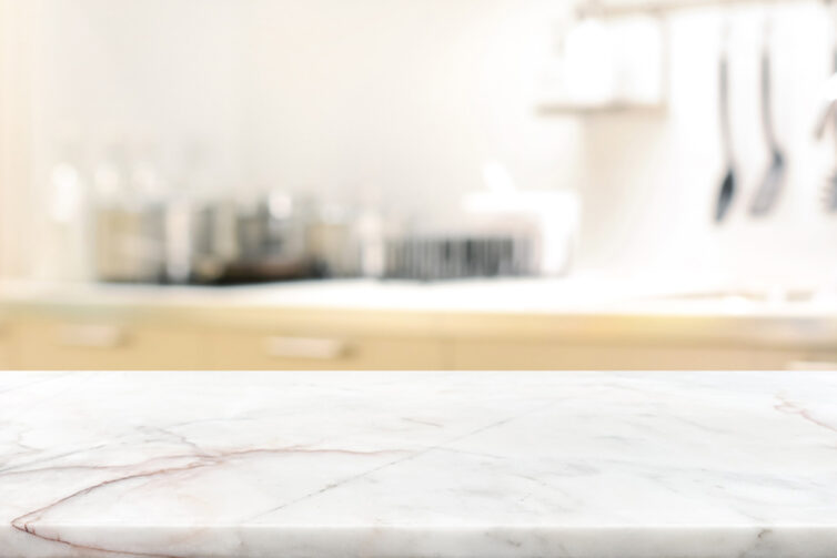Marble stone kitchen countertop